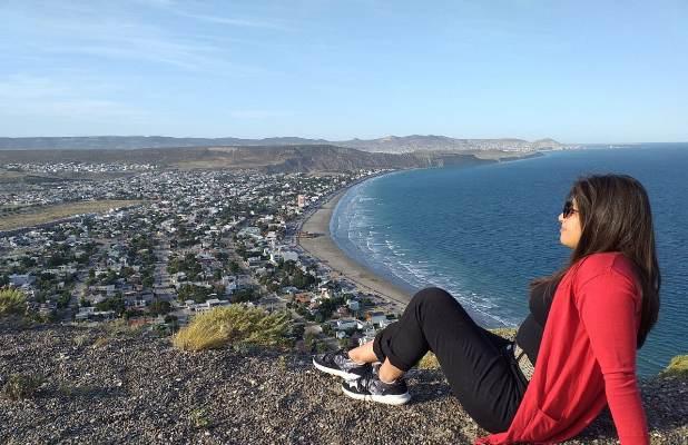 Valletanos por el Mundo: Eli Ruiz de San Carlos nos lleva a Rada Tilly una villa balnearia que conquistó su corazón