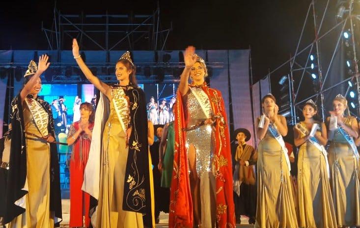 Ludmila Anabel Calabrigo es la nueva reina de la Vendimia de San Carlos: representó a Pareditas