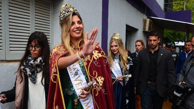 María Laura Micames será parte de la elección de reina y rey de la residencia Santa Marta
