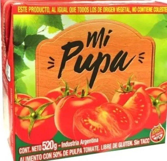 Resultado de imagen de Argentina: puré de tomate  mi pupa