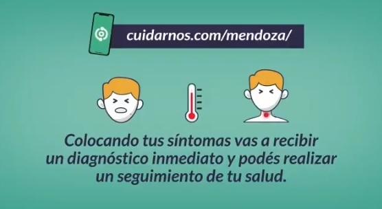 """""""CoTrack, Mendoza Te Cuida"""", la app que lanzó el Gobierno para realizar autodiagnósticos de coronavirus"""