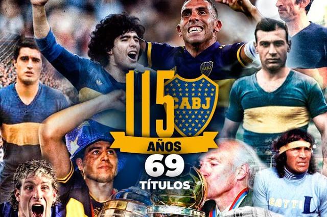 Efemérides: este viernes 3 de abril, el Club Atlético Boca Juniors cumple 115 años de vida