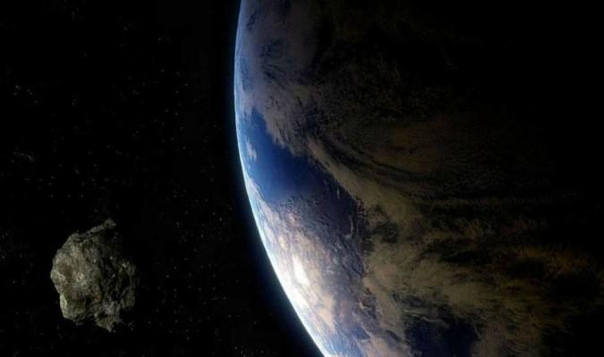 Así fue el paso del enorme asteroide cerca de la Tierra
