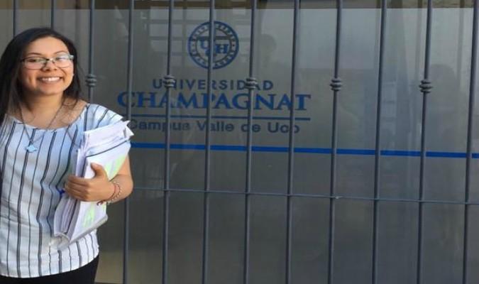 La Universidad Champagnat ya tiene su primera abogada egresada del campus Valle de Uco