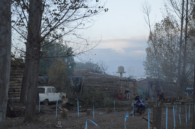 La Justicia está imputando a los vecinos que tomaron terrenos de Irrigación para hacerse casas