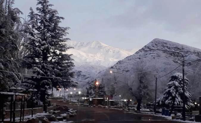 Fotos y videos: las espectaculares postales que dejó la primera nevada del año en el Valle de Uco