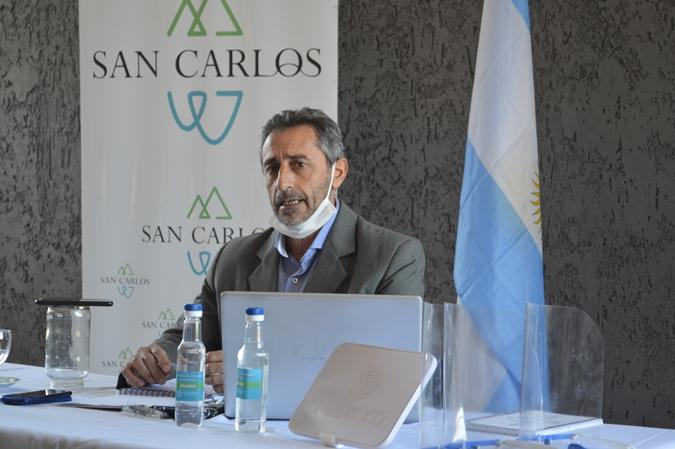Rolando Scanio quiere eximir de impuestos municipales a los comercios que no pueden abrir
