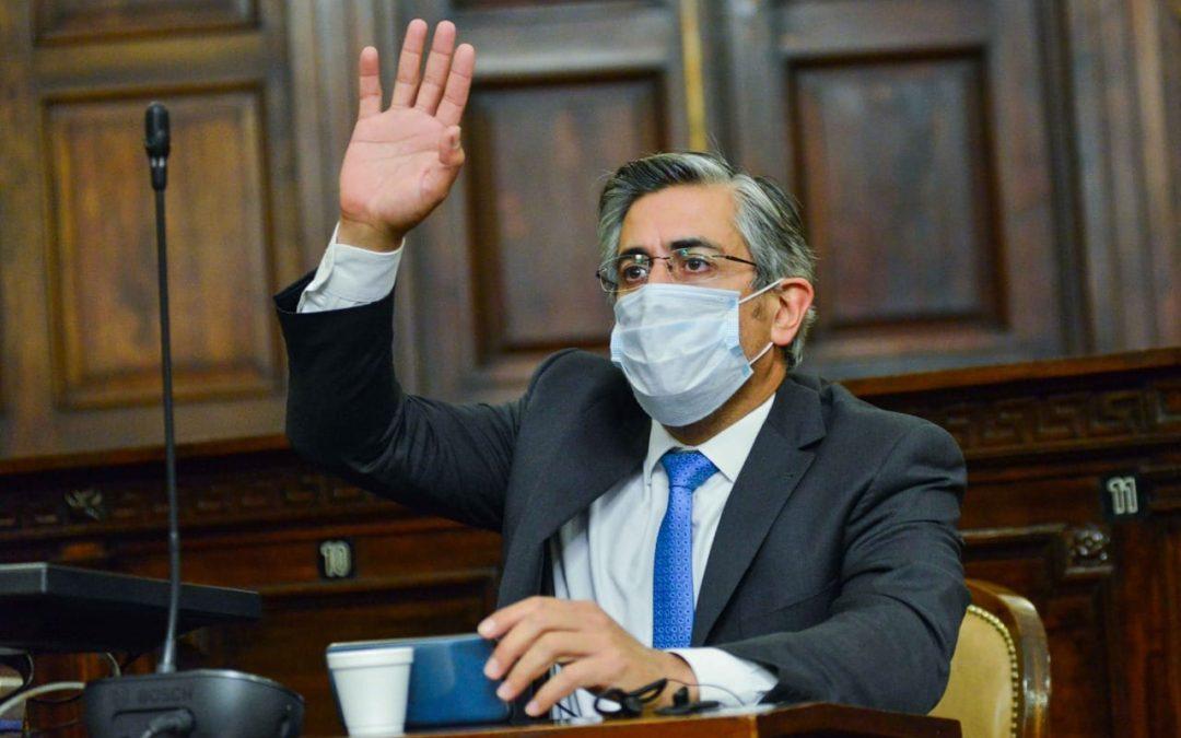 """Marcelo Romano: """"Les pido que no salgamos a la calle porque estamos en pandemia"""""""