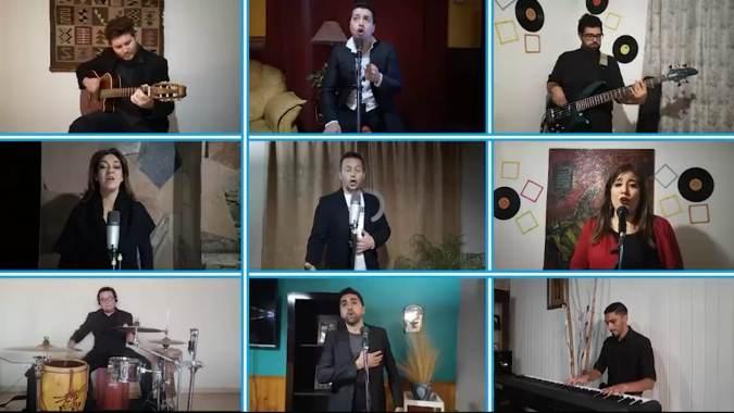 25 de Mayo: artistas sancarlinos interpretaron el Himno Nacional y emocionaron a través de las redes