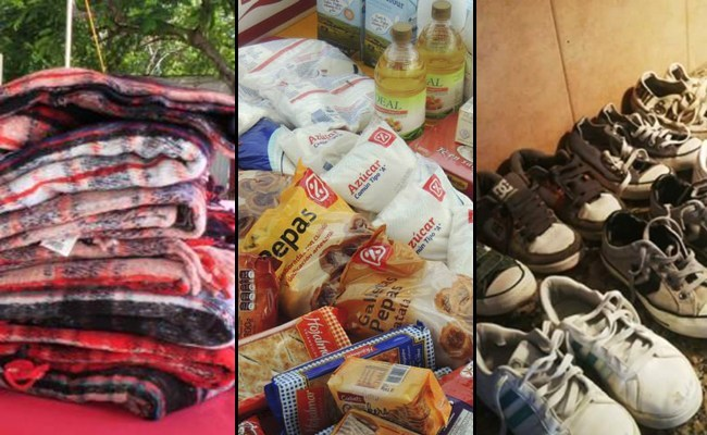 ¡Atención! La radio sancarlina extendió hasta el jueves la cruzada solidaria para ayudar a familias del departamento
