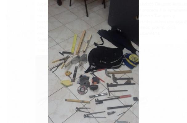 Dos jóvenes robaron en un domicilio de Tunuyán y poco después fueron atrapados por la Policía