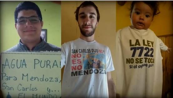 Ruidazo: esta vez la defensa del agua en el Valle de Uco no copó las calles, pero sí las redes sociales