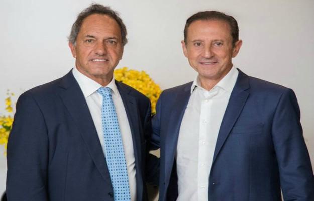 Oficializaron a Daniel Scioli como embajador argentino en Brasil