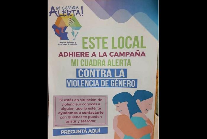 Mi cuadra alerta: la campaña contra la violencia de género que teje redes con comercios sancarlinos