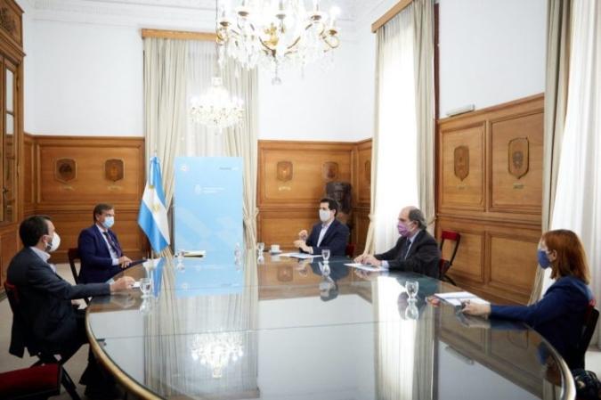 Portezuelo: el gobernador se reunió con el ministro del Interior de la Nación y le presentó su propuesta
