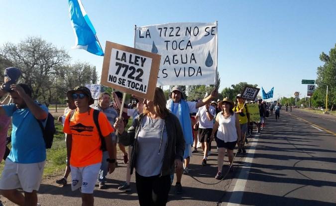 Por un pedido del intendente de Malargüe, se reaviva la polémica de la 7722 en Mendoza