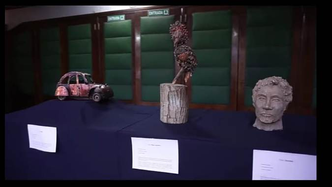 Recordatorio: de miércoles a sábado se encuentra abierto el espacio cultural sancarlino con exposiciones artísticas