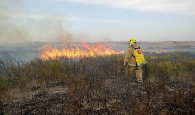 Los incendios en Valle de Uco no cesan: en dos días se quemaron más de 10 hectáreas en Tunuyán