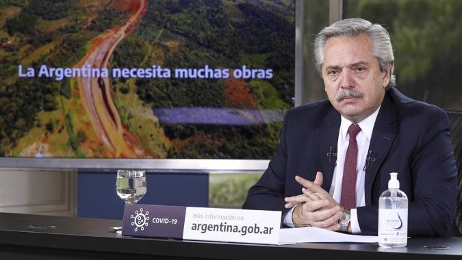 """Fernández, sobre la deuda: """"Nos sacamos una mochila muy pesada que alguien cargó sobre los argentinos"""""""