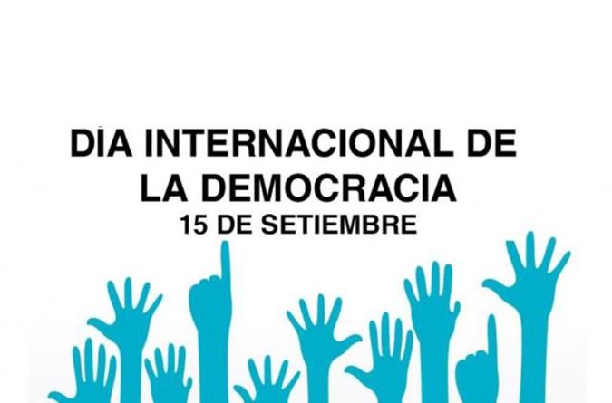 Efemérides: cada 15 de septiembre se celebra el Día Internacional de la Democracia