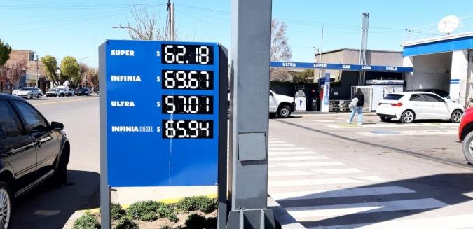 Así quedaron los precios de los combustibles en Valle de Uco tras el aumento de YPF