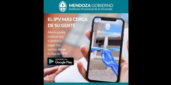 El IPV lanzó una App y adjudicatarios ahora podrán pagar su cuota o realizar trámites desde el celular