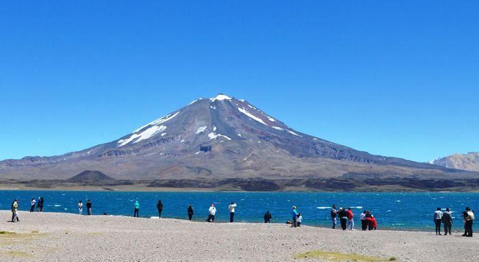 Unas 3.000 personas ya han visitado la Laguna del Diamante en lo que va de la temporada