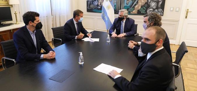 Mendoza firmó un convenio con la Nación por el crédito de 3 mil millones de pesos