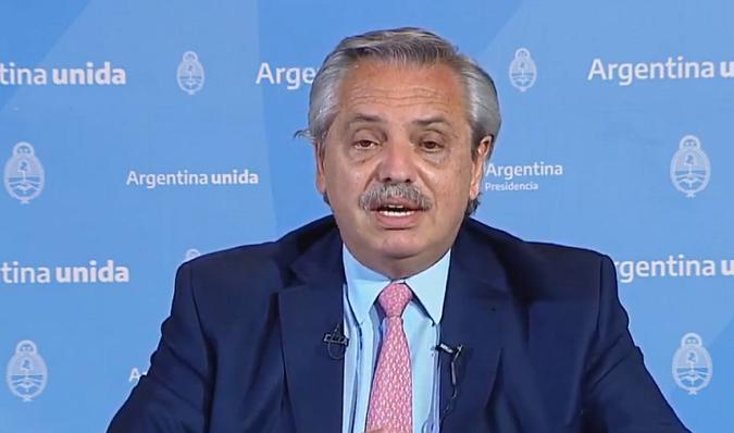 """Alberto Fernández anunció que el aislamiento seguirá por 14 días más: """"Se está lejos de superar el problema"""""""