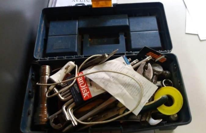 Dos menores robaron una caja de herramientas en Tunuyán y poco después fueron aprehendidos
