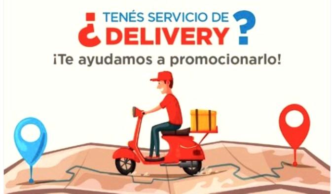 Con el objetivo de bajar la circulación de personas, San Carlos arma un registro de comercios con deliverys