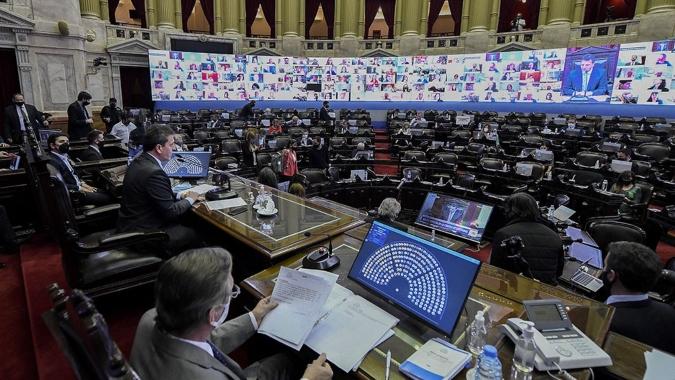 La Cámara de Diputados debate el proyecto de Presupuesto 2021