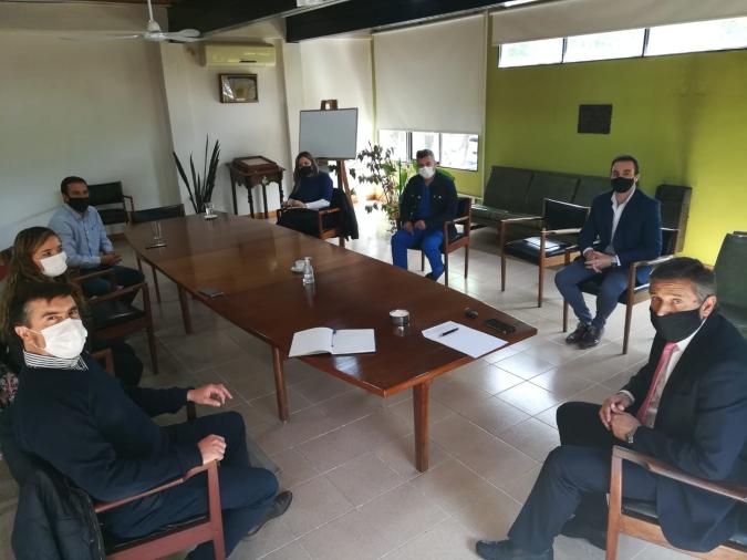 La Comisión de Salud y concejales de Tunuyán avanzan en dos proyectos para el departamento