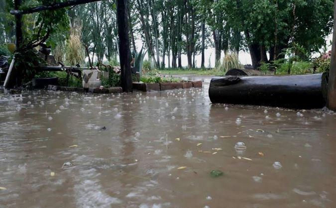 Hay alerta por tormentas en el Valle de Uco: en principio se descarta la caída de granizo en la zona