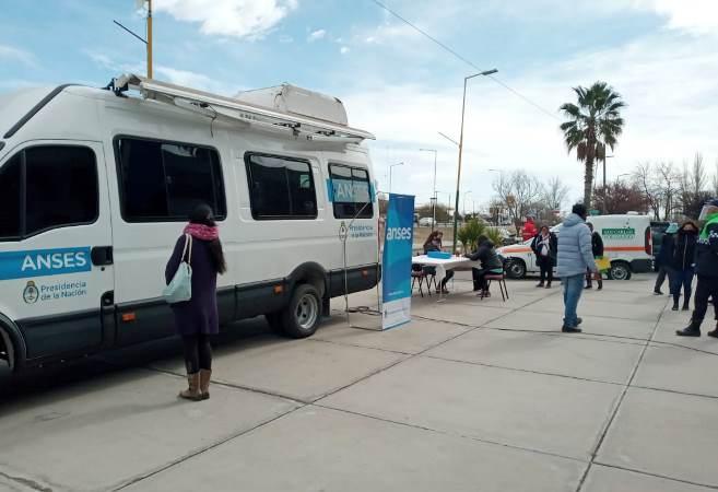 ANSES y PAMI realizarán un nuevo operativo móvil en San Carlos