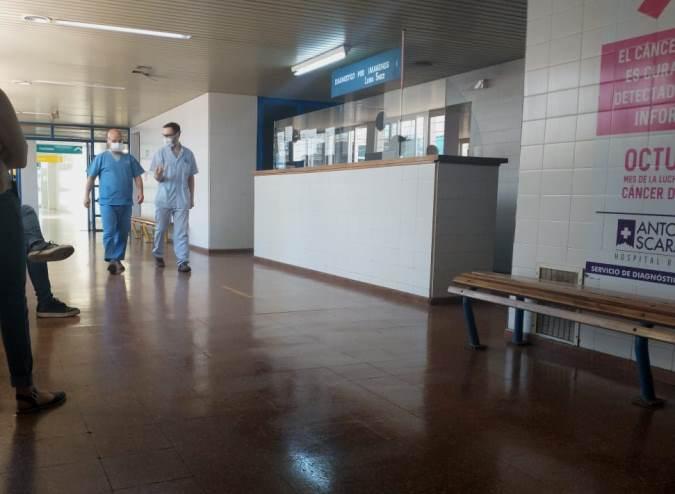 Personal de salud - Scaravelli - foto El Cuco Digital
