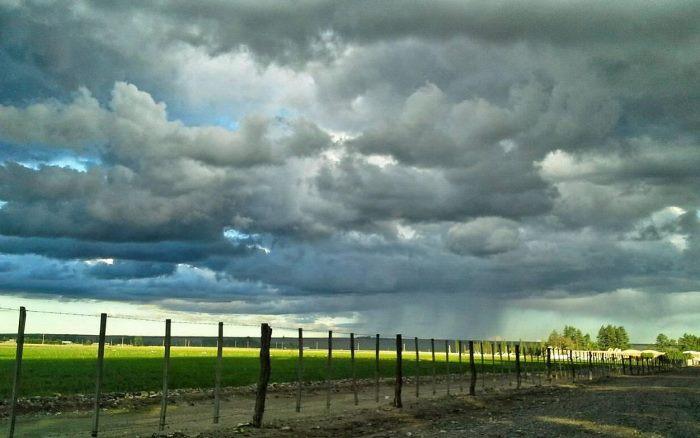 Advierten por tormentas severas para este viernes: el fin de semana mejoran las condiciones