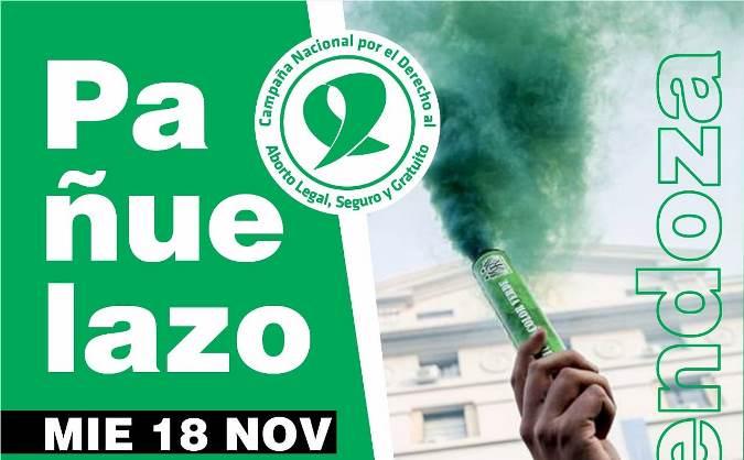 Hoy habrá un pañuelazo en Mendoza por el aborto legal y desde el Valle de Uco invitan a participar