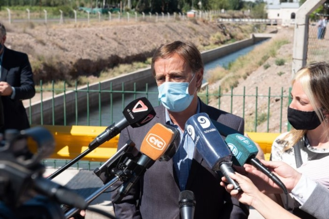 """Suarez: """"El proyecto Potasio Mendoza será enviado a la Legislatura la semana que viene"""""""