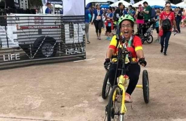 Solidaridad: Mili Sánchez pedaleará de Tunuyán hasta Eugenio Bustos para ayudar a una asociación