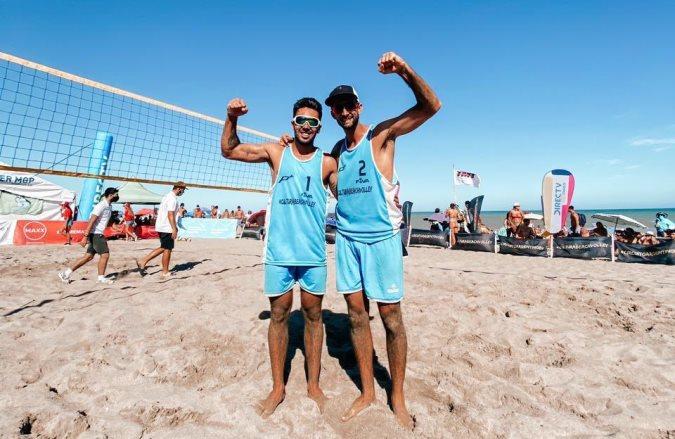 Beach Volley: la 3º etapa del Circuito Argentino terminó con la consagración Leo Aveiro y Juli Azaad