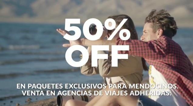 El Gobierno lanza campaña para fomentar el turismo interno y hay descuentos del 50% para mendocinos