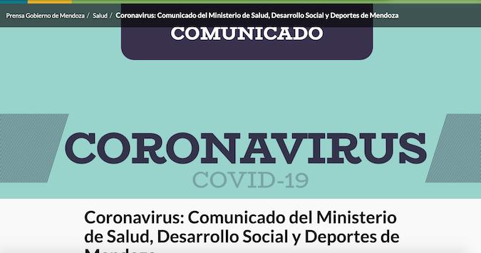 Covid-19 en Mendoza: el último reporte informó 144 nuevos casos positivos y dos fallecidos