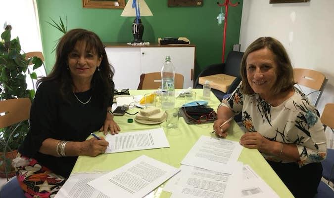 La Liga de Lucha contra el Cáncer Valle de Uco firmó un importante convenio con la Fundación COIR