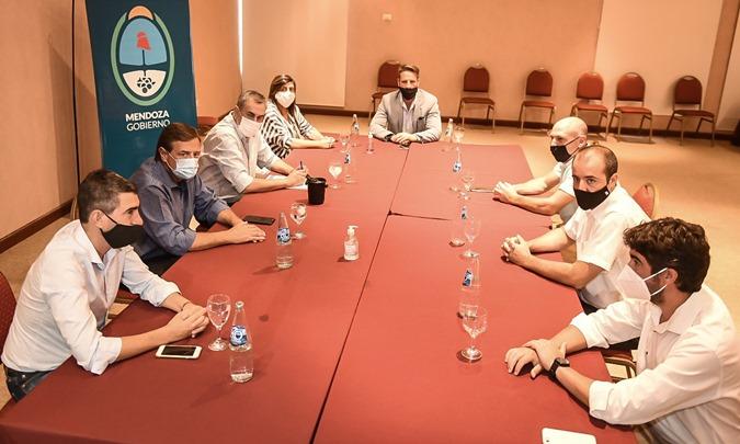 Reunión centro de congresos San Rafael