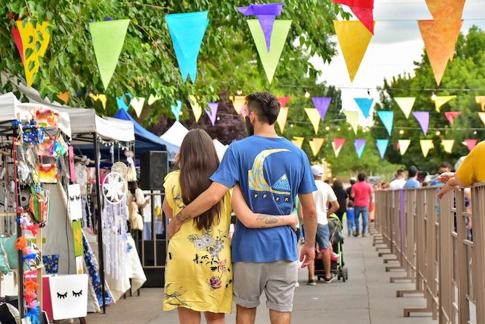 """Feria Artesanal en Tupungato: """"me encantó este paseo, cargado de color, creatividad y linda música"""""""