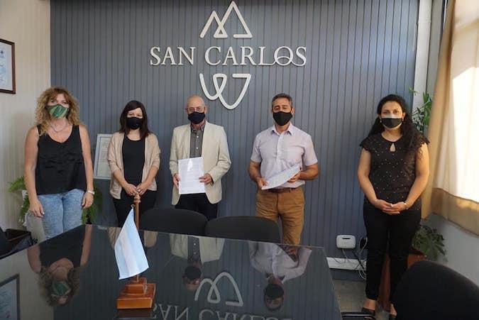 Estudiantes de Turismo del IES 9-009 realizarán prácticas en un informador turístico de San Carlos