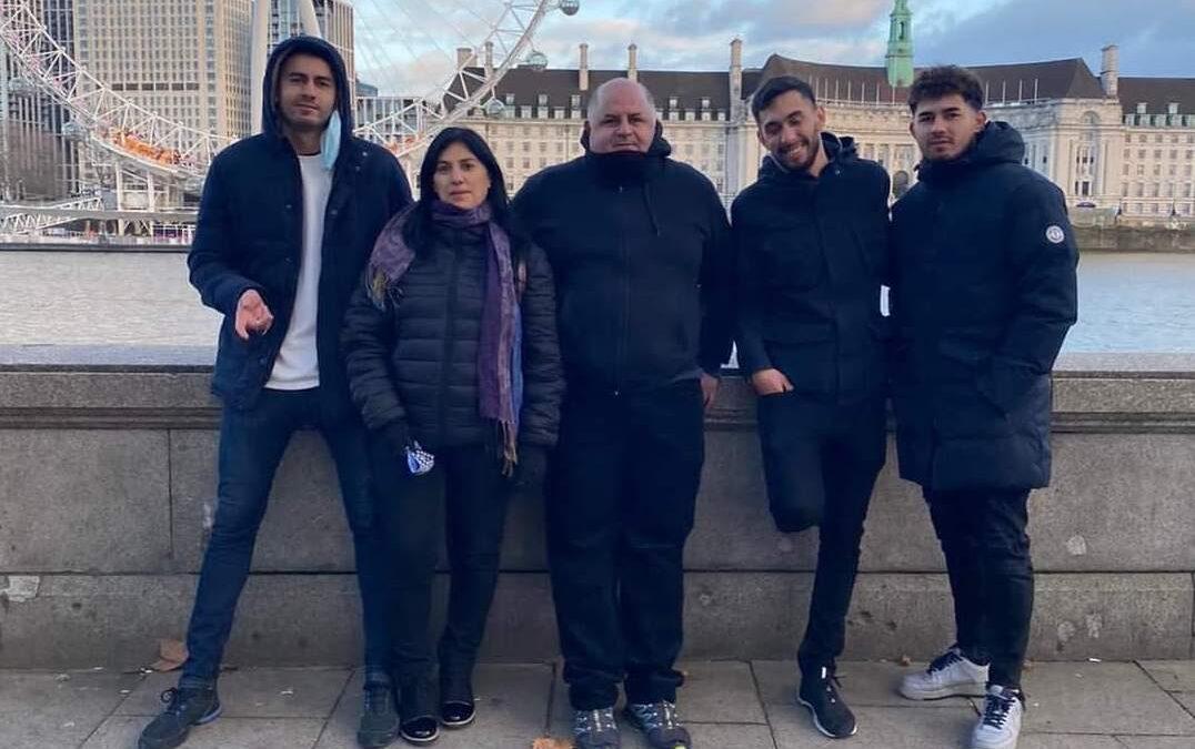 """Del barrio El Molino a Londres: los """"Topo"""" González lograron reunirse nuevamente en familia"""