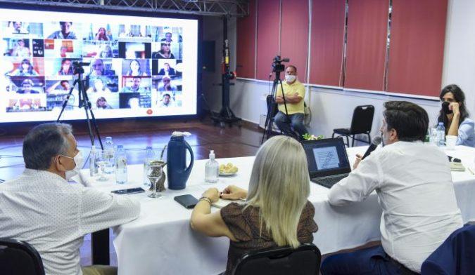 Inicio del ciclo lectivo 2021: Thomas participó de la reunión de ministros de Educación de todo el país