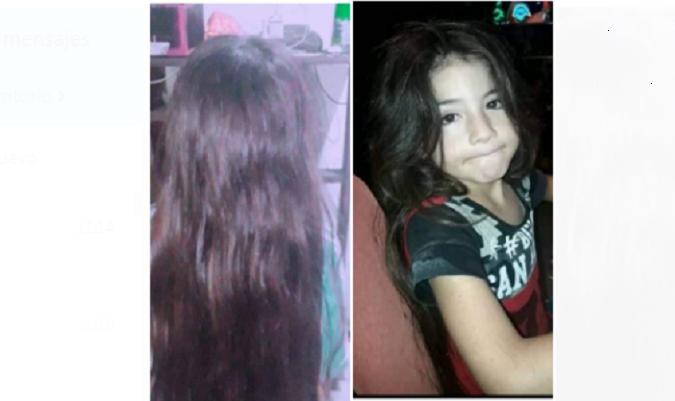 Tunuyanino de 7 años que nunca se ha cortado el pelo, quiere donarlo a algún niño que lo necesite